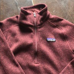 Patagonia Sweaters - Burgundy Patagonia sweater!